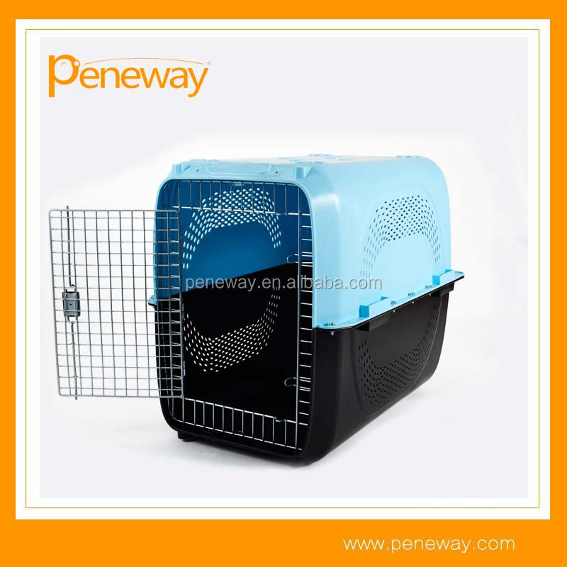 2017 factory plastic durable portable dog kennels crates
