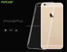 2016 free sample tpu transparent phone case for iphone6