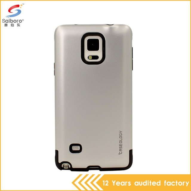 Best qualtiy two in one phone case for samsung galaxy note n7000 i9220 cover