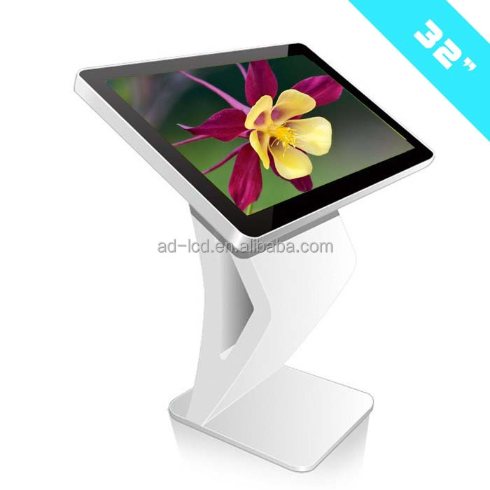floor stand digital signage display usb media player to monitor