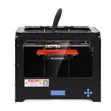 2016 New Extruder FDM 3d Printer Cheap 3d Metal Printer Enclosed Dual 3D Metal Printer