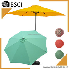 manufacture outdoor umbrella 300cm patio parasol brand beer advert parasol promotion garden umbrella