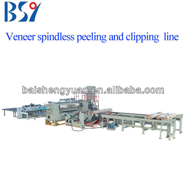 plywood production line/ veneer rotary line