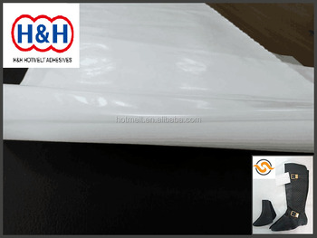 Hot Melt Glue Adhesive / Hot Melt Glue Sheet for Seamless/ Sew-free Shoes