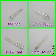 China Factory 5mm diffused RGB Self Flashing LED Diodes