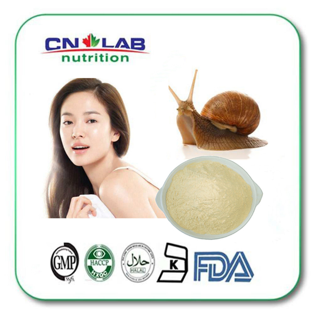 Snail mucus extract powder,snail edible powder,snail slime powder for cosmetics grade