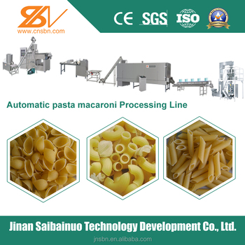Stainless Steel Automatic Industrial Pasta Machines