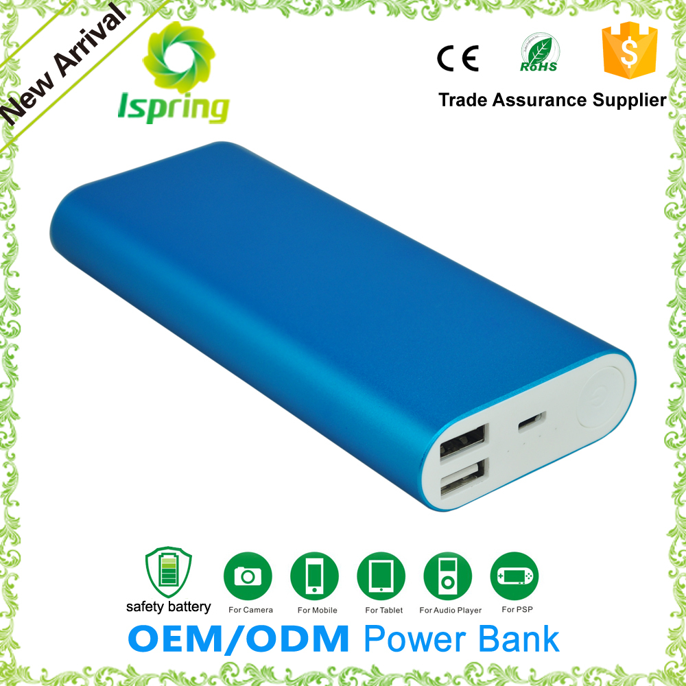 Best quality mobile power bank 20000mah custom logo xiaomi power bank for ipad smartphone