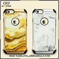 Factory direct supply marble cell phone case for iphone 6