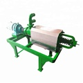 Animal manure solid liquid separating machine cow pig manure dewatering machine