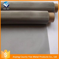 Anping factory plain guangzhou stainless steel wire mesh with low price