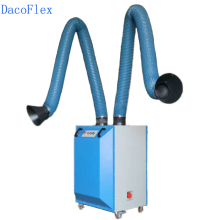 Welding fume exhaust system 160mm welding fume ventilation duct hose