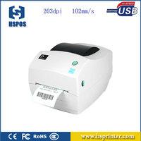 zebra barcode label printer GK888T transfer stickers printer for label printing