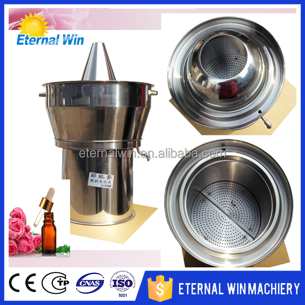 HOT rose water machine / rose essential oil distiller / rose oil extraction machine