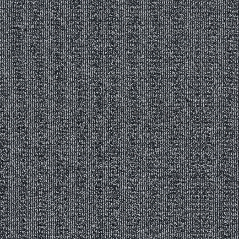 Grey Color Multi Level Loop Fireproof Nylon Carpet Tiles for Office