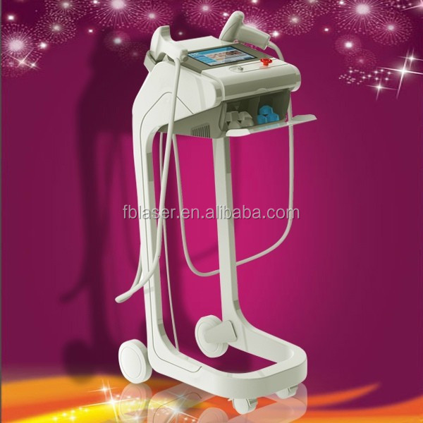 Dual headpieces microneedle fractional rf machine--MNF300