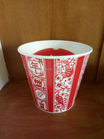 high quality hot selling KFC custom biodegradable wholesale take away paper for fish and chips disposable paper cups