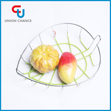 Leaf Style Iron Wire Fruit Basket