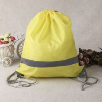 promotion eco friendly wholesale nylon polyester drawstring bag