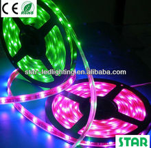 DC12v multicolor rgb digital led strip 8806 IC waterproof casing ip67