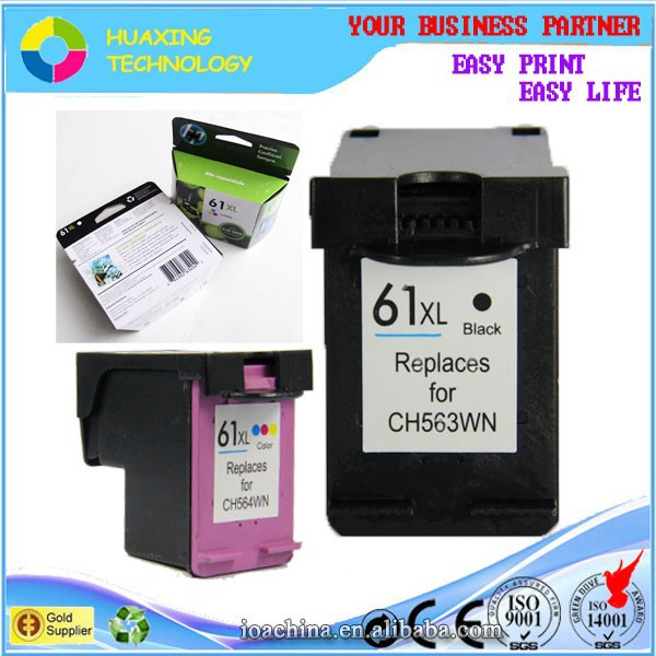 factory direct sale compatible hp 61 ink cartridge