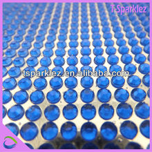 China shiny resin sticker non hotfix rhinestones on Alibaba