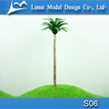 Scale Miniature model trees / artificial plastic palm trees for architectural model train layout S06