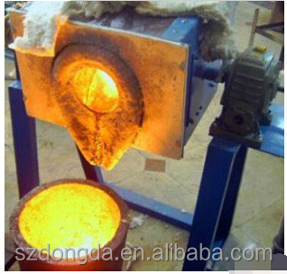 Induction Furnace Type and New Condition foundry furnace Aluminium scrap Smelting Equipment 5kg