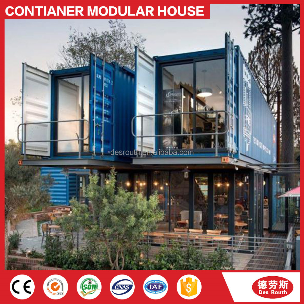 20ft/40ft prefab modular folding container house/villa/home/office/cabin