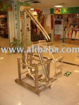 Bamboo Waterwheel / Water Wagon / Water Mill