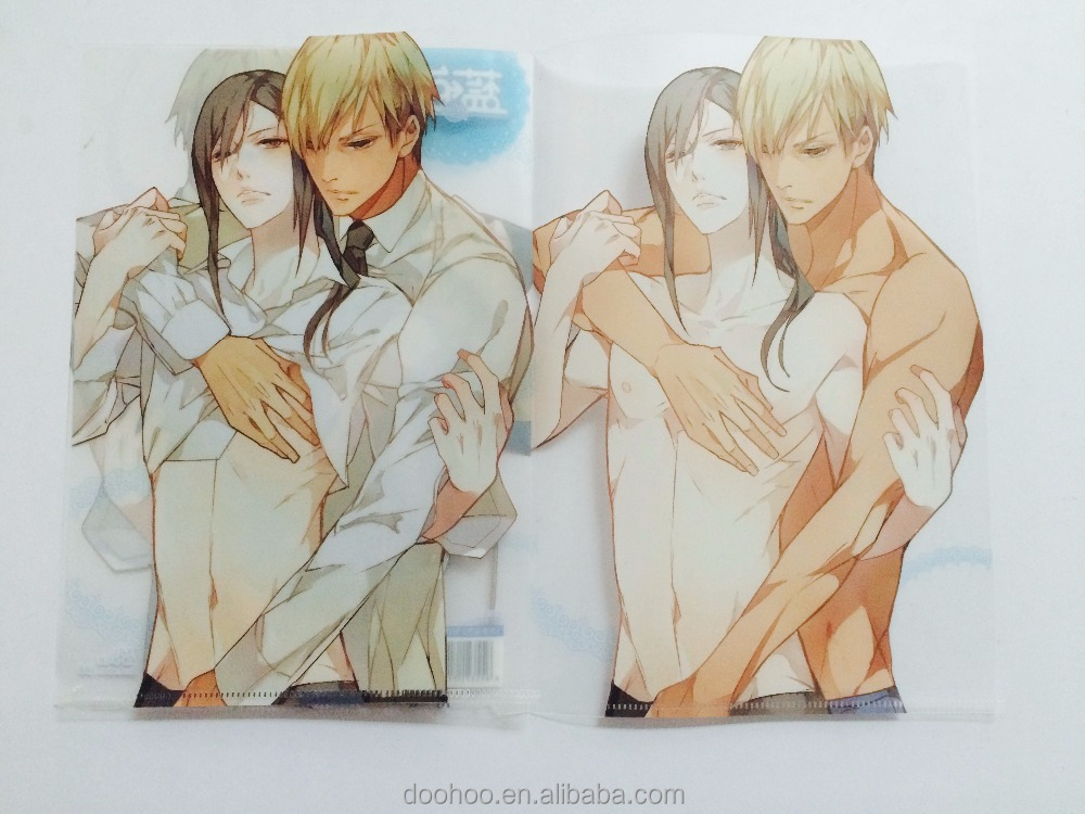 Custom A4 Size Plastic Clear File