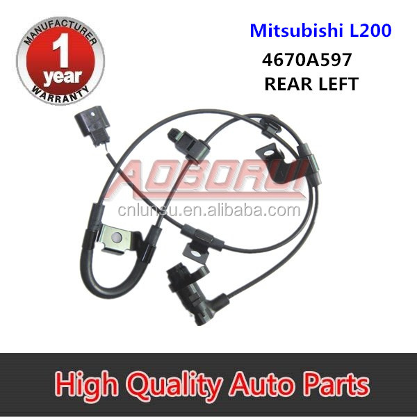 ABS Wheel Speed Sensor For <strong>Mitsubishi</strong> <strong>L200</strong> Rear Left 4670A597