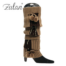 Yong Sexy Girls Fancy New With Glitter Fashion Stylish Knitted Fashion Winter Target Leg Warmers