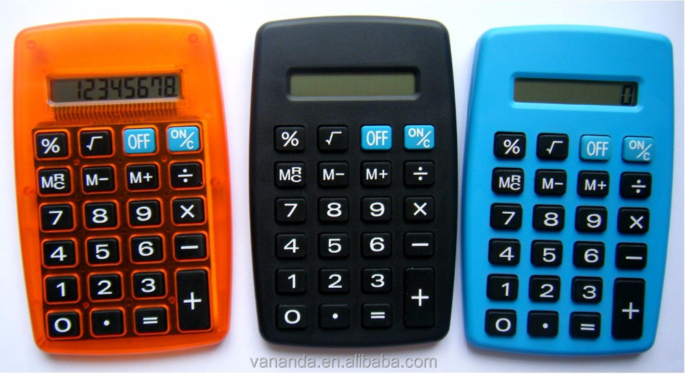 Promotion gift calendar gifts desk calculator