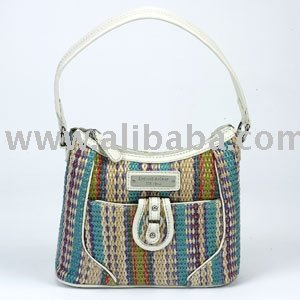 Regal Straw Hobo-Multi Handbag