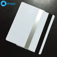 China leader factory Magnetic Stripe RFID Cards blank printing smart PVC id card