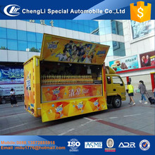 China Multi-function mini food truck/fast food cart/hot dog vending van