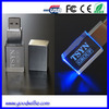 Wholesale Flash Memory/Crystal Thumb drive /USB Modern with LED Logo