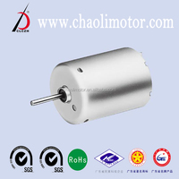 12v 3100rpm CL-RF370CB micro dc motor for stand fan and remote-control aeronautic prototype