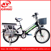 22 Inch Enduro Electric Cargo Bike With Steel Bike Frame Bicycle For Sale