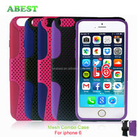 For iphone 6 Combo Hard Case Cover,Toolbox Case Mesh case for iphones