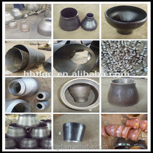 ANSI B16.9 B16.28 A234 WPB carbon steel schedule 40 concentric eccentric pipe fittings reducer