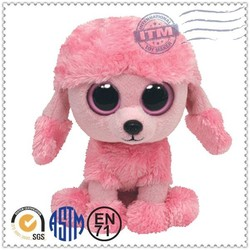 Make stuffed colorful animal plush toy dog
