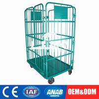 Customization Roll Container Logistics Table Trolley Cart