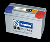 Dry Charged atlas car battery/Auto Battery/ Korea battery Starting Battery with 12 months warranty