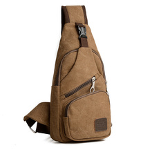 single strap canvas sling messenger bag men cross body chest bag shoulder bag