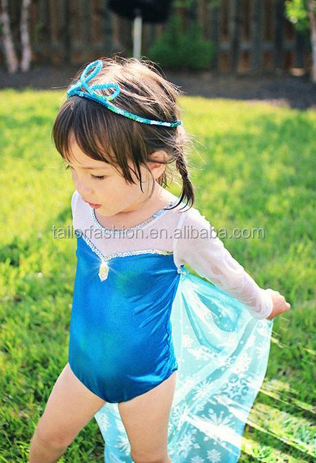 Traje Baño Natacion Ninos:Natacion traje elsa congelados ropa de traje de baño traje de baño