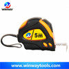 Nylon coated blade bulk smooth tape measure rubber steel Auto lock advertising tape