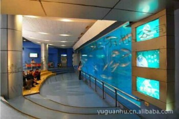 modern wall decoration aquarium