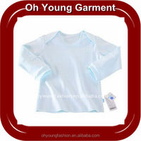 Hot! Newest fashion and Cute baby tshirt, tshirts cotton with 2 laces